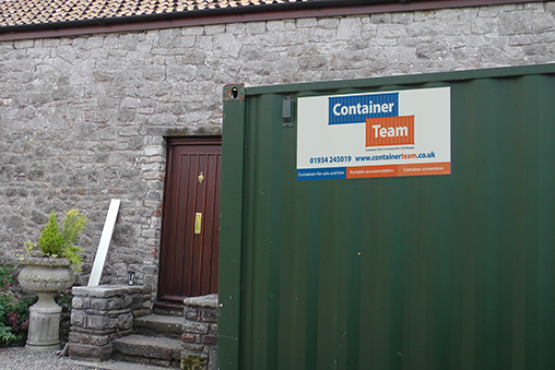 Self storage units at your place