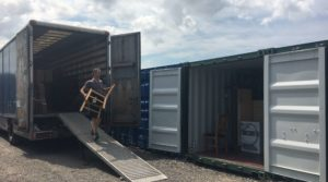 Self storage units for removers need more space