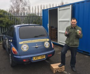 Beer from Round Here, business storage, Bristol South Space Program